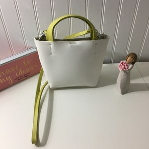 NWOT Urban Outfitters white & green crossbody bag